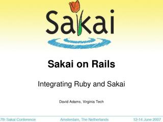 Sakai on Rails