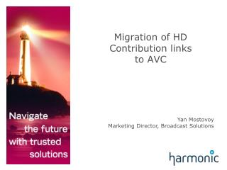 Migration of HD Contribution links to AVC