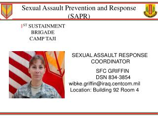 Sexual assault prevention and response galleries 33