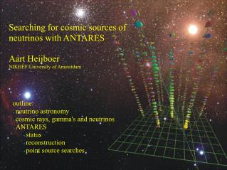 Searching for cosmic sources of neutrinos with ANTARES Aart Heijboer