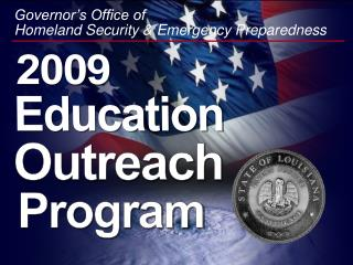 Governor s Office of  Homeland Security  Emergency Preparedness