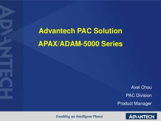 Advantech PAC Solution APAX/ADAM-5000 Series