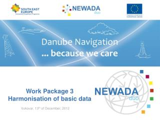 Work Package 3   Harmonisation of basic data