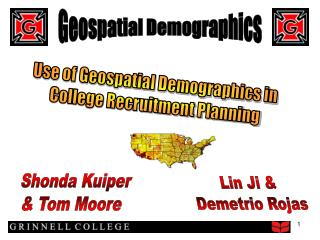Geospatial Demographics