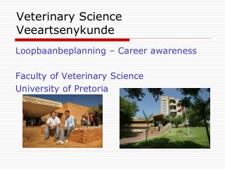 Veterinary Science Veeartsenykunde