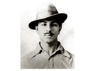 In which party did  Bhagat  Singh work?