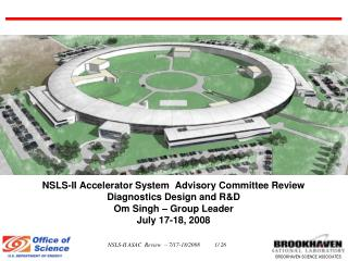 NSLS-II Accelerator System  Advisory Committee Review  Diagnostics Design and R&D