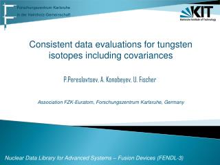 Nuclear Data Library for Advanced Systems – Fusion Devices (FENDL-3)