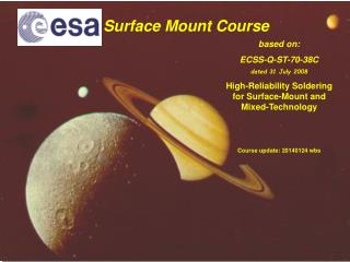Surface Mount Course