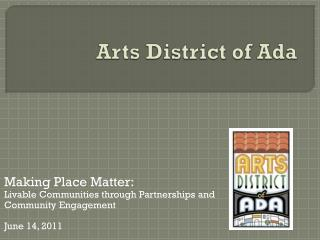 Arts District of Ada