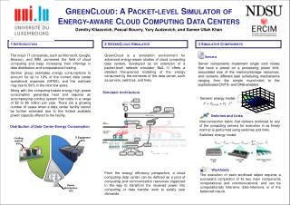 GreenCloud : A Packet-level Simulator of Energy-aware Cloud Computing Data Centers