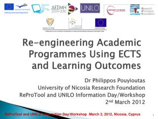 Re-engineering Academic Programmes Using ECTS and Learning Outcomes
