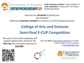College of Arts and Sciences Semi-final E-CUP Competition