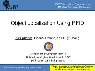Object Localization Using RFID