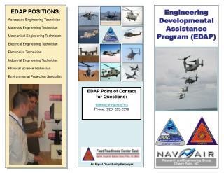 EDAP POSITIONS: Aerospace Engineering Technician  Materials Engineering Technician