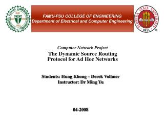 FAMU-FSU COLLEGE OF ENGINEERING Department of Electrical and Computer Engineering