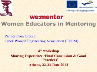 Women Educators in Mentoring