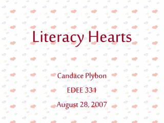 Literacy Hearts