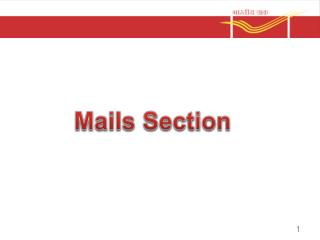 Mails Section