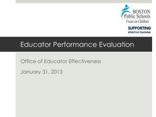 Educator Performance Evaluation