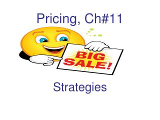 Pricing, Ch#11