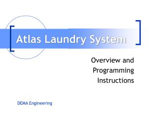 Atlas Laundry System