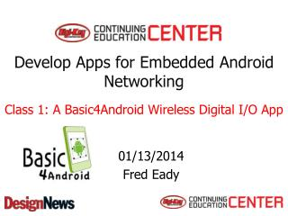 Develop Apps for Embedded Android Networking