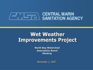 Wet Weather Improvements Project