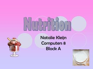 Natalie Kleijn   Computers 8 Block A