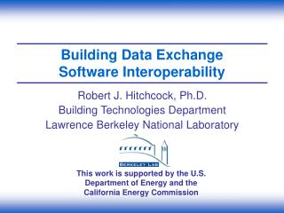 Building Data Exchange Software Interoperability
