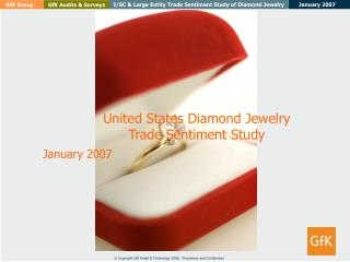 United States Diamond Jewelry  Trade Sentiment Study