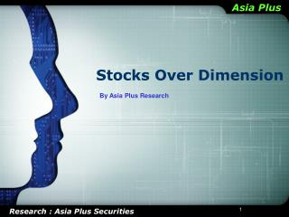 Stocks Over Dimension
