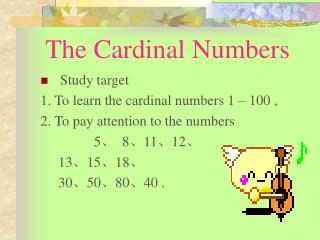 The Cardinal Numbers