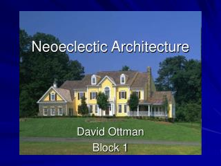 Neoeclectic Architecture