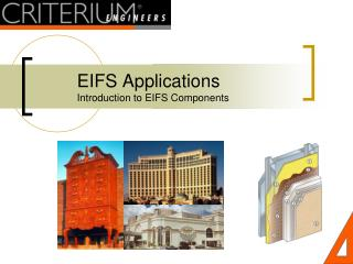 EIFS Applications Introduction to EIFS Components