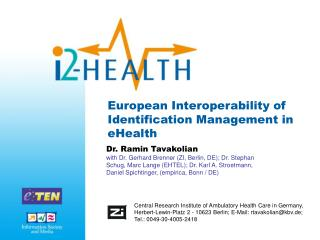European Interoperability of  Identification Management in eHealth