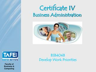 Certificate IV Business Administration