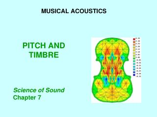 PITCH AND TIMBRE
