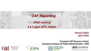CAF Reporting