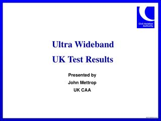 Ultra Wideband UK Test Results