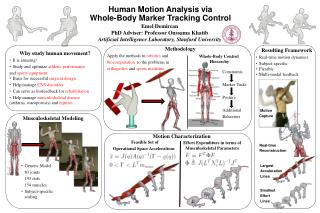 Human Motion Analysis via  Whole-Body Marker Tracking Control