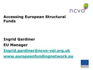 Accessing European Structural Funds
