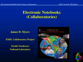 Electronic Notebooks (Collaboratories)