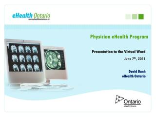 Physician eHealth Program