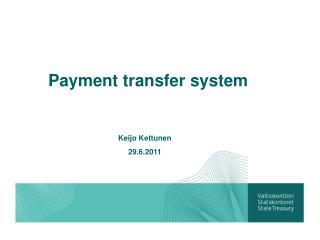 Payment transfer system