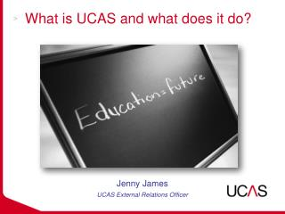 What is UCAS and what does it do?