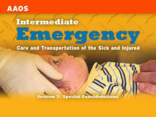 Chapter 32 Geriatric Emergencies