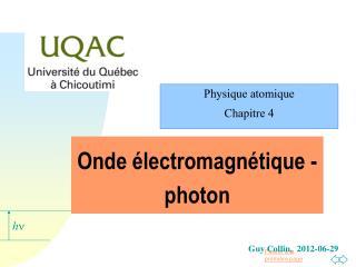 Onde électromagnétique - photon