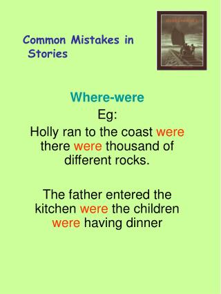 Common Mistakes in  Stories