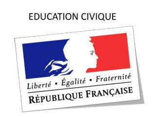 EDUCATION CIVIQUE